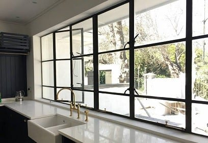 Metal windows aluminium steel windows doors in cape for Window design metal