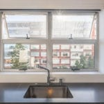 Sea Point Apartment - Aluminium Kitchen Windows