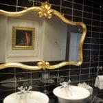Metal Windows Bathrooms Framed Bevelled Mirrors