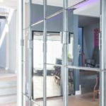 Metal Windows Steel and Mirror Cabinets